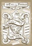 Coat of Arm 01 Vintage 2D