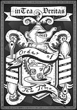Coat of Arm 01 Vintage Blackboard 2D