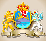 Coat of Arms Banner 2D