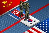 Corean Crisis 01 Concept Isometric