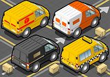 Delivery Truck 02 Vehicle Isometric