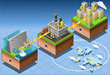 Energy 03 Infographic Isometric
