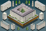 European 03 Building Isometric