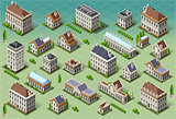 European 04 Building Isometric