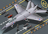 Fighter Bomber 01 Vehicle Isometric