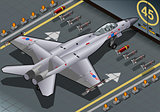 Fighter Bomber 03 Vehicle Isometric