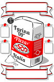 Flour Pizza Vintage 2D