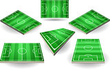 Football Fields 01 Building Isometric