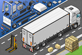 Frigo Truck 01 Vehicle Isometric