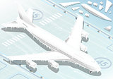 Frozen Airplane 01 Vehicle Isometric