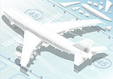 Frozen Airplane 02 Vehicle Isometric