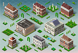 Historic USA 01 Building Isometric