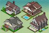 Historic USA 02 Building Isometric