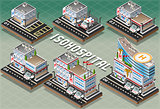 Hospital 01 Building Isometric