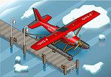 Hydroplane 03 Vehicle Isometric