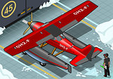 Hydroplane 04 Vehicle Isometric