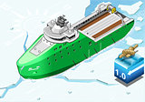Icebreaker 02 Vehicle Isometric