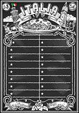 Italian Menu 02 Vintage Blackboard 2D