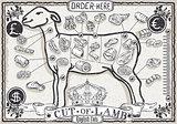 Lamb Cuts 03 Vintage 2D