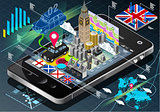 London App 01 Infographic Isometric