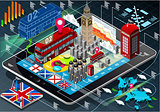 London App 02 Infographic Isometric