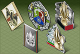 Military Medals Isometric