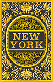 New York Label 01 Vintage 2D