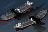 Oil Tanker 03 Vehicle Isometric