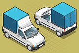 Pick up 01 Vehicle Isometric