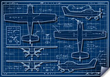 Plane Project 01 Blueprint 2D