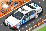 Police 02 Vehicle Isometric