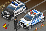 Police 03 Vehicle Isometric