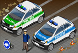 Police 04 Vehicle Isometric