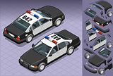 Police 05 Vehicle Isometric