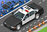 Police 06 Vehicle Isometric