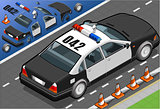 Police 07 Vehicle Isometric