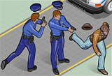 Policeman 01 People Isometric