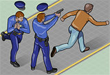 Policeman 02 People Isometric