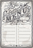 Restaurant Menu 01 Vintage 2D