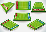 Sport Fields 01 Building 3D