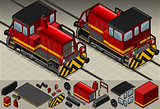 Train 01 Vehicle Isometric