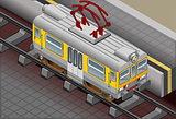 Train 02 Vehicle Isometric
