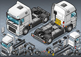 Truck 09 Vehicle Isometric