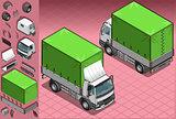 Truck 11 Vehicle Isometric
