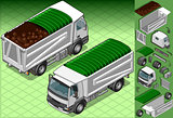 Truck 12 Vehicle Isometric