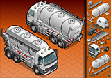 Truck 14 Vehicle Isometric