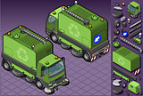 Truck 15 Vehicle Isometric