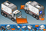 Truck 16 Vehicle Isometric
