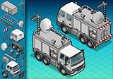 Truck 17 Vehicle Isometric