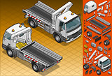 Truck 18 Vehicle Isometric